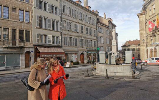 jeu de piste en vieille ville de genève