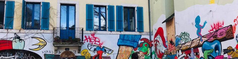 balade street art genève
